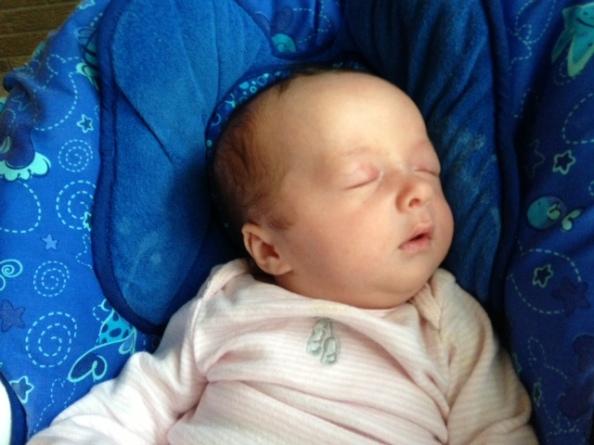 Ella napping