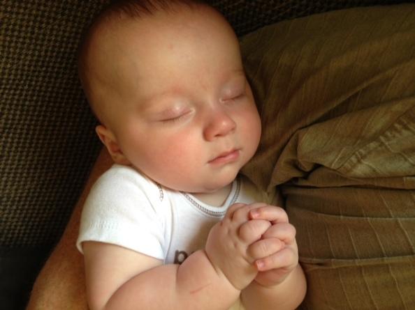 Eli praying