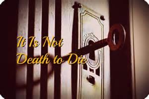 it is not death