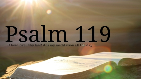Psalm 119 (6)